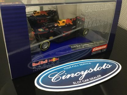 Carrera D132 30818 Max Verstappen Red Bull TAG Heuer F1 1/32 Slot Car.