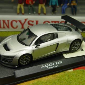 NSR 1087 Audi R8 Street Car Silver 1/32 Slot Car.