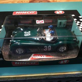 Ninco 50160 Jaguar XK-120 Green 1/32 Slot Car. NEW.