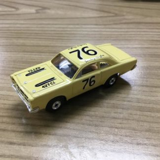 Original Thunderjet 500 T-Jet Chassis with a Torino Johnny Lightning Body.