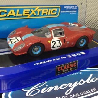 Scalextric C3028 Ferrari 330 P4 #23. 1/32 Slot Car Lightly Used.