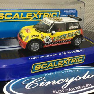 Scalextric C3019 Mini Cooper Works Challenge 1/32 Slot Car ...
