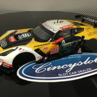 Carrera D124 23819 Chevrolet Corvette C7R #50 BODY/INTERIOR ONLY