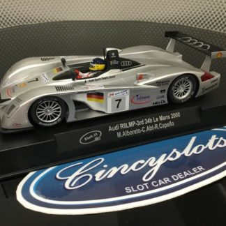 Slot.it CA33c Audi R8 LMP 24hr Le Mans 2000 1/32 Slot Car.