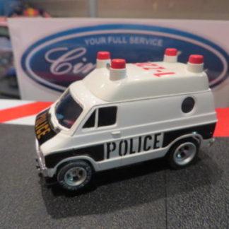 AFX Dodge Police Van HO Slot Car. NEW.