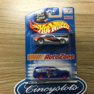 Hot Wheels Auto Zone 1967 Camaro Dodge Durango 2 pack. B1