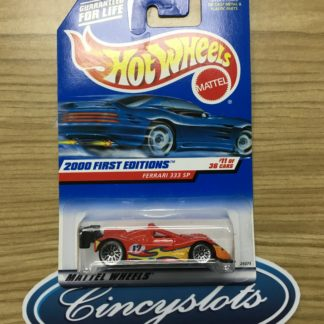 Hot Wheels Ferrari 333 SP 2000 First Editions 11 of 36.