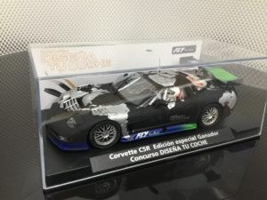 Fly 99026 Corvette C5R Ganador Concurso Limited Edition. 1/32 Slot Car.