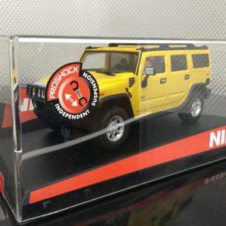 Ninco 50457 Hummer H2 Yellow 1/32 Slot Car.