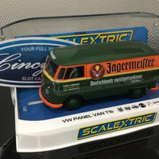 Scalextric C3938 VW Jagermeister Van Bus 1/32 Slot Car.