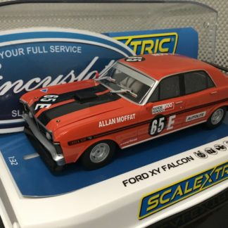 Scalextric C3928 Ford XY Falcon 1971 Bathurst #65 1/32 Slot Car.