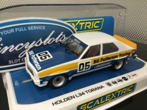 Scalextric C4019 Holden L34 Torana 1977 ATCC Brock #5 1/32 Slot Car.