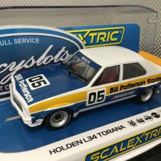 Scalextric C4019 Holden L34 Torana 1977 ATCC Brock #5 1/32 Slot Car.