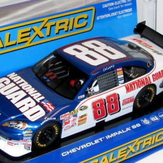 Scalextric C2958 Chevrolet Impala SS Earnhardt JR #88 National Guard 1/32 Slot Car.