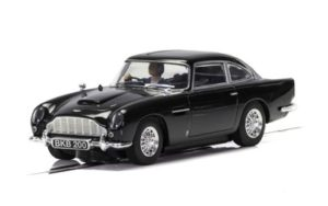 Scalextric C4029 Aston Martin DB5 Black 1/32 Slot Car.