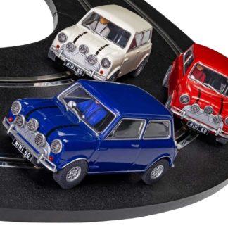 Scalextric C4030A Mini Diamond Edition Triple Pack 1/32 Slot Car.