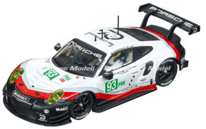Carrera D132 30890 Porsche 911 RSR #93 1/32 Slot Car.