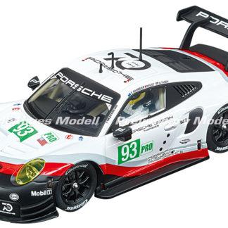 Carrera D132 30890 Porsche 911 RSR #93 1/32 Slot Car.
