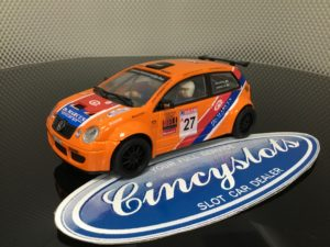 Power Slot 86962 VW Polo Orange 1/32 Slot Car.