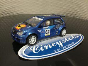 Power Slot 86961 VW Polo Blue 1/32 Slot Car.