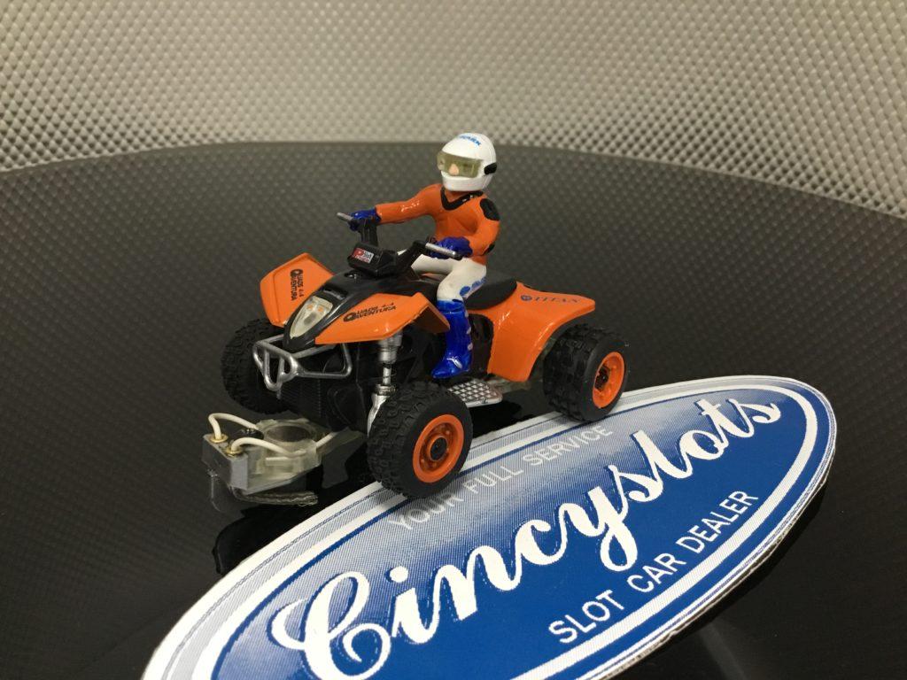 Power Slot 86991C Dirty Quad Orange 1/32 Slot Car.