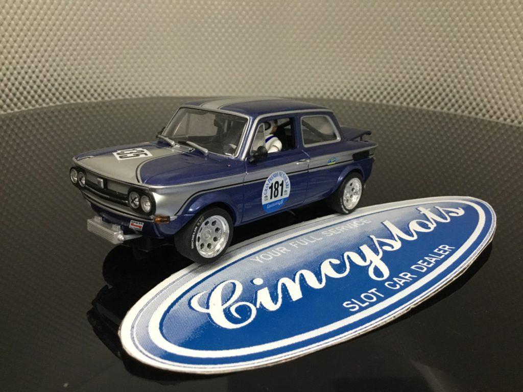 Monogram Revell 8357 NSU TT #135 1/32 Slot Car. NEW No Box.