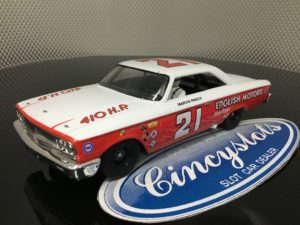 Monogram Revell 85-4891 Ford Galaxie Marvin Panch Nascar 1/32 Limited Edition Slot Car.