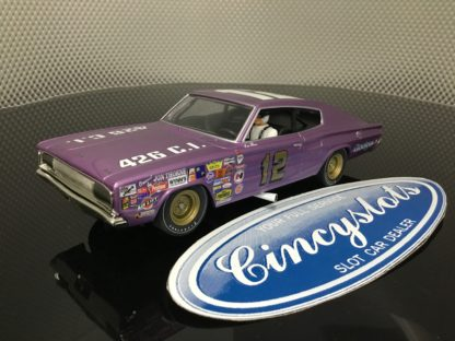 Monogram Revell 85-4844 Dodge Charger Nascar 1/32 Limited Edition Slot Car.