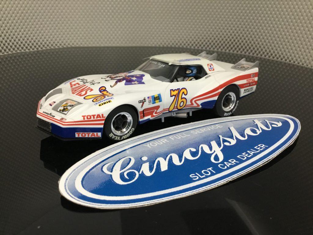 Monogram Revell 4867 Greenwood Corvette #76 1/32 Slot Car. NEW No Box.