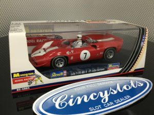 Monogram Revell 85-4885 Lola T70 John Surtees 1/32 Slot Car.
