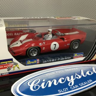 Monogram Revell 85-4885 Lola T70 John Surtees 1/32 Slot Car.