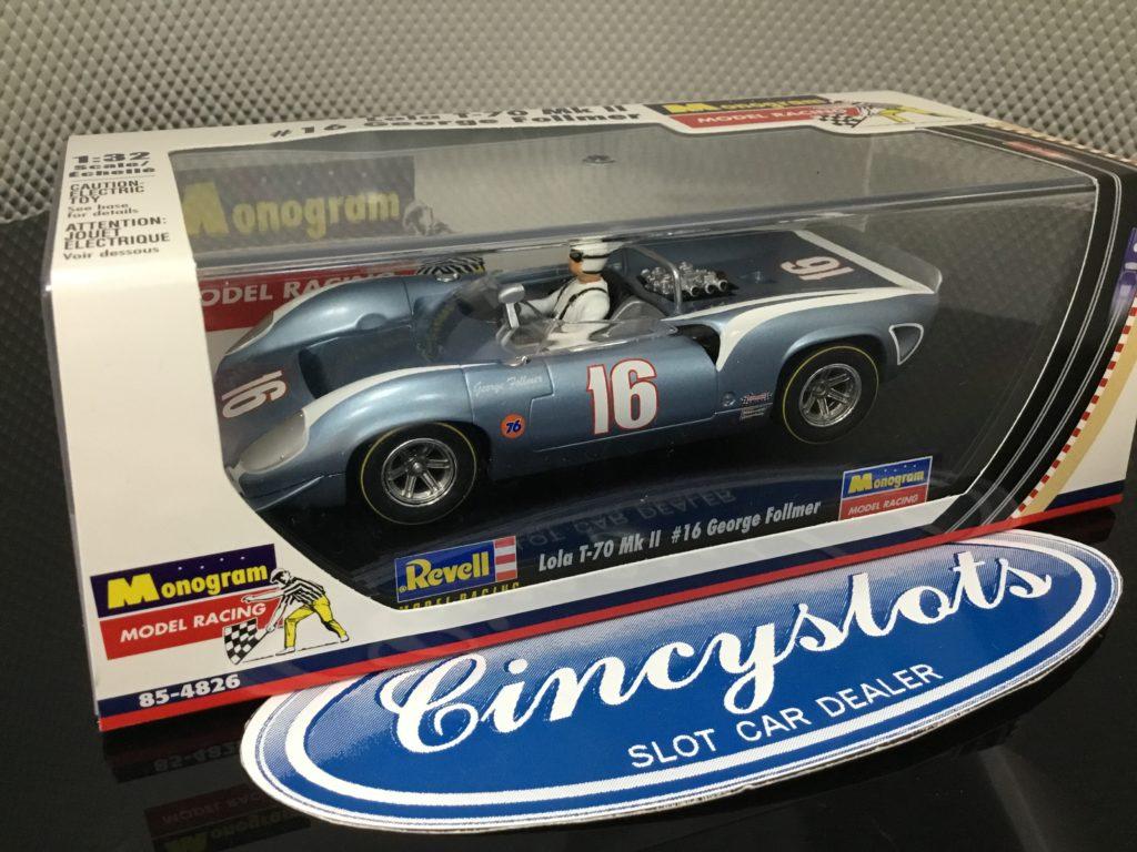 Monogram Revell 85-4826 Lola T70 George Follmer 1/32 Slot Car.