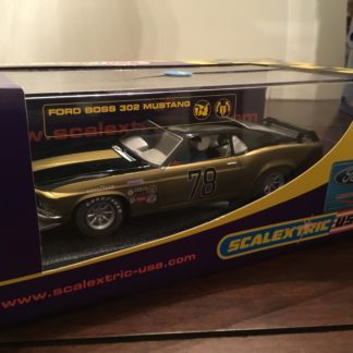 Scalextric C2797 Mustang #78 1/32 Scale Slot Car.