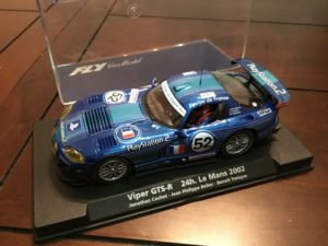 Fly A210 88195 Chrysler Viper GTS-R 1/32 Slot Car.