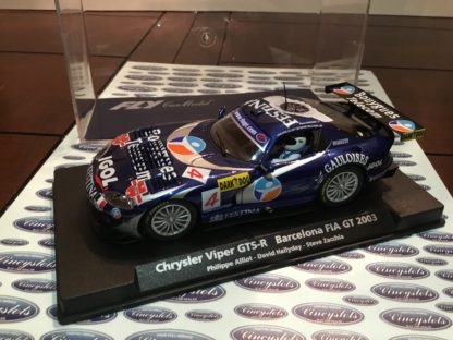 Fly A206 88113 Chrysler Viper GTS-R 1/32 Slot Car.