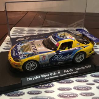 Fly A211 88220 Chrysler Viper GTS-R 1/32 Slot Car.