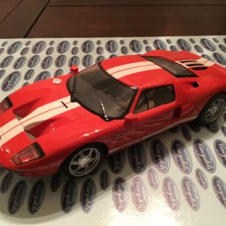 Scalextric C2661 Ford GT Red 1/32 Scale Slot Car. Lightly Used.