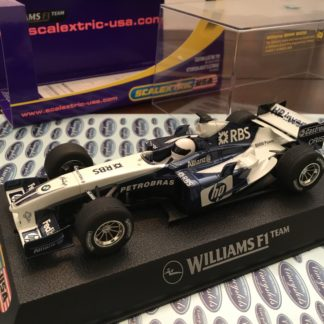 Scalextric C2647 BMW Williams F1 2005 #8. Lightly Used.