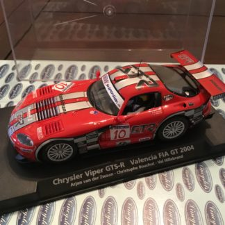 Fly Viper GTS-R Red Valencia FIA 1/32 Slot Car, Lightly Used.