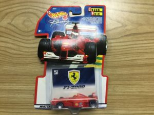 Hot Wheels 2000 Ferrari F1 Grand Prix .