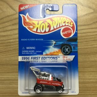 Hot Wheels 1996 First Editions Radio Flyer Wagon.