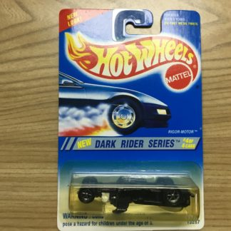 Hot Wheels Dark Rider Series Rigor Motor Error.