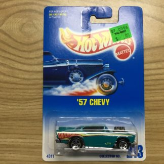Hot Wheels '57 Chevy #213 4311.