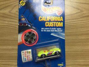 Hot Wheels California Custom Cobra 1296 1989.