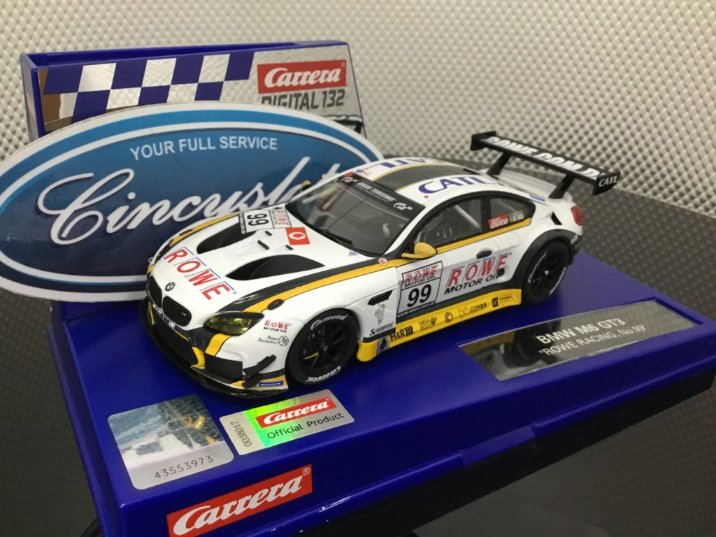 Carrera D132 30871 BMW M6 ROWE Racing #99 1/32 Slot Car.