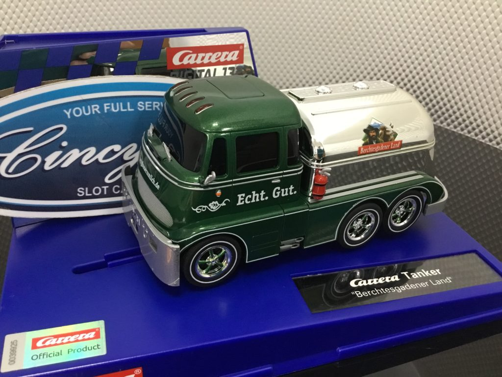 Carrera D132 30889 Tanker Berchtesgadener Land 1/32 Slot Car.
