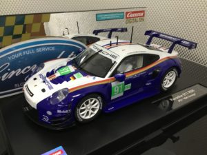 Carrera D124 23885 Rothman's Porsche 911 RSR #91 1/24 Scale.