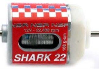 NSR 3001 Shark Motor 22,4k RPM @ 12V for 1/32 slot car.