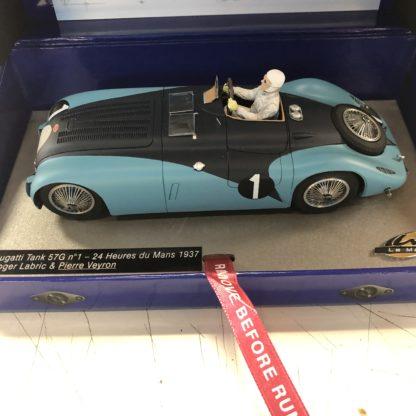 Le Mans Miniatures 132074 Bugatti Tank #1 1937 Pierre Veyron.