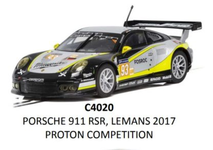 Scalextric C4020 Porsche 911 Type 991 1/32 Slot Car.
